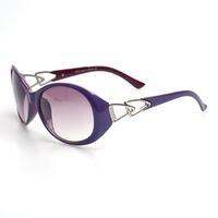 Free shipping fashion sunglasses eyewear glasses for women purple  (K9042)