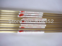 0.4mmx400mm Single Hole Ziyang Brass Electrode Tube for EDM Drilling Machines