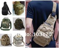 Molle Shoulder Sling Bag Outdoor Sport Camping Hiking Trekking Bag Military Tactical Backpack Rucksack Sport Travel Bag
