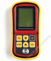 New GM100 Digital Ultrasonic Wall Thickness Gauge Meter Tester for Steel PVC(China (Mainland))