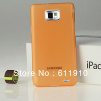 10pcs/lot  Ultra Thin Slim Soft PC Case Skin Back Cover For Samsung Galaxy S2 SII i9100 Wholesale and Retail+Free Shipping