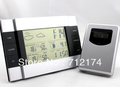 RF Wireless Weather Station indoor/outdoor Temperature Alarm Clock Meter Sensor