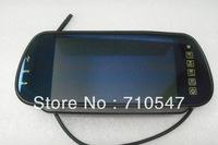 7 inch Color Mirror LCD Car Rear rview mirror screen Monitor Backup Camera
