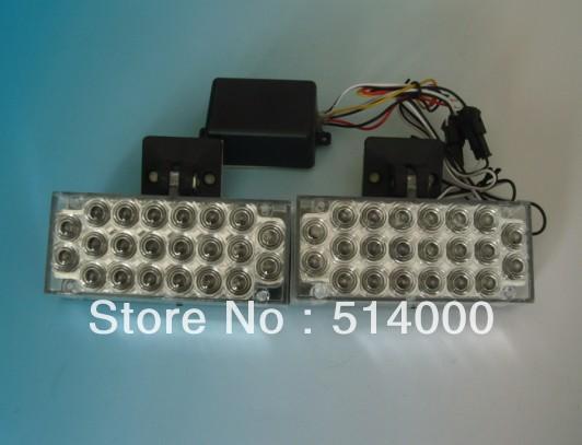 44 из светодиодов белого тележки автомобиля аварийный проблесковый вспышка света