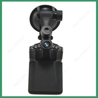 H198 car Black Box Camera dvr 2.5''LCD Screen 6 IR LED With Night Vision 90 Degree View Angle+Retail Box
