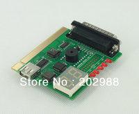 Parallel Port/ PCI 2-Digit PC Analyzer Diagnostic Card Tester POST For Laptop Desktop Free Shipping