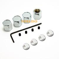 New 4PCS Caps Anti-Theft Locking Tire air valve caps For nismo #3507