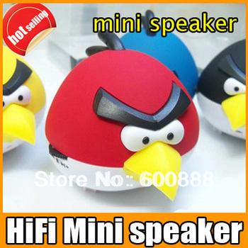 cartoon style Mini Speaker Portable Music Player Supports TF Card Sound Box FM Radio Free shipping
