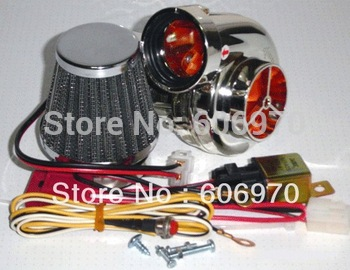Motorcycle electric turbocharger suite  Electric Turbo Turbo 500 For motorcycle Motor Bike