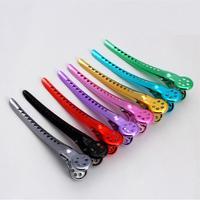 6pcs/lot Professional Salon Alloy Duckbill Hair clip 7 colors you can choose