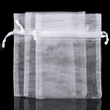 New 1 Pack 50PCS Organza Jewelry Wedding Gift Bags Favor Pouches 12 X 9cm Decor#9325(China (Mainland))