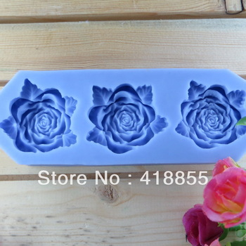 2013 Hot Selling Free Shipping New style large Wholesale Hot Selling Chocolate Mould Rose Chocolate Manufacture Mold (si059)