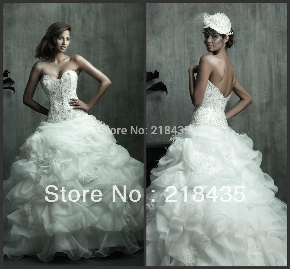 Popular Extravagant Wedding Dresses Aliexpress