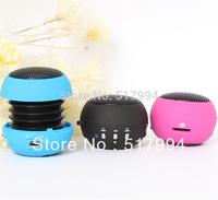 free shipping 2012 new high end 5 in 1 multifunction Speaker MP3 FM radio Card reader Sound card mini hamburger portable speaker