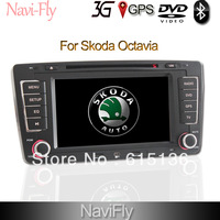 """FREESHIPPING +CANBUS 7"""" HIFI 2Din Car Multimedia Stereo GPS DVD Wifi 3G IPOD,RDS CAN-BUS(optional) for Skoda Octavia+map gift!"""
