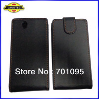 IN STOCK!!! Leather Flip Case for Sony Xperia Z L36h, 350pcs/lot, Mixed colors,Fast delivery---DHL Free shipping
