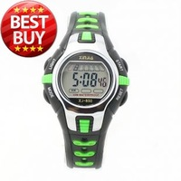 Hot Xinjia 850 Led Sports Water Resistant Movement Digital wristwatch Watch with Plastic Strap, Light (Green)