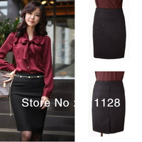 Women's 2013 thickening woolen fashion a-line slim hip skirt m10