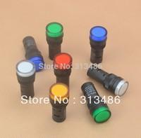 16mm signal led Indicator light blue green red,white yellow pilot lamp