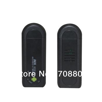 Free shipping MK809 II android 4.1 mini pc dual-core CPU 1.5GHZ Bluetooth TV box dongle google smart tv box 1GB RAM 8GB ROM