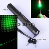 Burn match 5000mw Strong power green laser .Ture power Green laser pointer, burning matches fastest, green laser pen, .