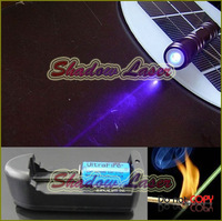 SD200-V304C 200mw 405nm Adjustable Focus BURNING Blue-violet Laser Pointer Battery & Charger/Cut tape,Light matches & cigarettes