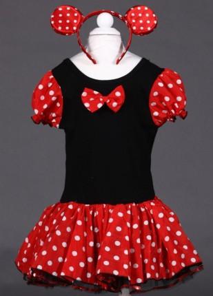 Molde del vestido de Minnie Mouse - Imagui