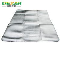 aluminum foil sleeping pad camping mat picnic mat waterproof moistureproof mat Outside Picnic Blanket