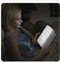 Yiwu novelty small gift magic reading light flat reading lamp reading light