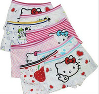 Panties  baby  gril pants underwear shorts kids briefs wholesale hello  panties  kitty clothes free shipping12pcs/lot boxer Y22