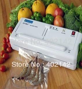 100% Warranty Sinbo DZ-280 Household Vacuum Sealer,fruit packing machine,plastic bag sealing machine(China (Mainland))