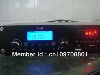 ST-15M 15w FM Transmitter PLL radio broadcast transmitter  MP3 player
