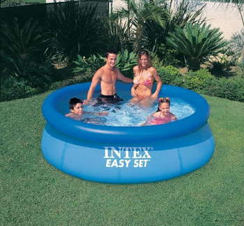 Free shipping by EMS  Intex 56970  inflatable pool swimming pool ,dish family pool size:244cmx76cm