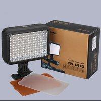 Free Shipping!YONGNUO YN-1410 140pcs ultra-bright LED video Camera flash Video Light 5500K 16-grade 2 color Studio light