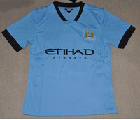 Free Shipping!!Wholesale And Retail Manchester City Home Jersey 2013-2014 ,Football Uniforms Thailand Quality