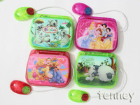 Free Shipping,Laptop Computer Children Learning English Machine ,Transparent plastic, light, Mouse ,7pcs/lot