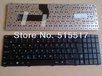 Free shipping black ru russian laptop keyboard for ASUS N52 N52D N52DA N52J N52JV N50 N50VC N50VG N50VN