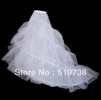 Wedding dress slip wedding panniers pannier train princess dress big train bustle fish tail pannier