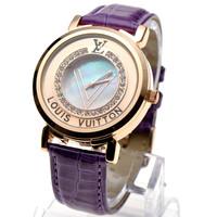 New woman full of diamond watches Wild fashion style luxury high-grade diamond watch Purple Ladies Watch