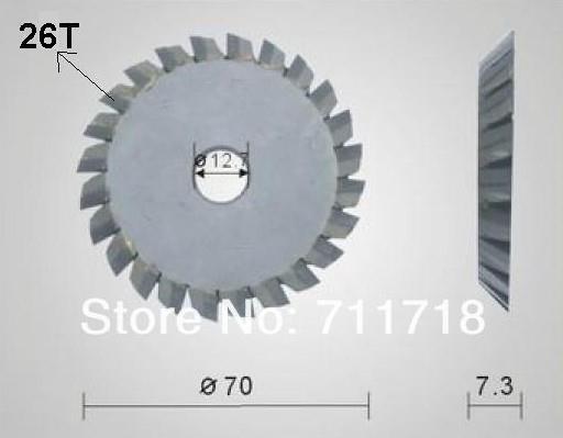 Tungsten Steel Material Key Cutting Blade Machine Parts Locksmith Tools(China (Mainland))