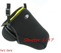camera bag (M) soft bag  for nikon D40 D60 D3000 D3100 D5000 D5100 18-105mm 18-55mm
