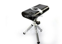 Portable Mini Projector for iPhone, iPad, mobile, SD card, One Year Warranty