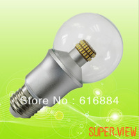 Free Shipping Warm White 6W High Power LED Bulb E27,Light LED Spot