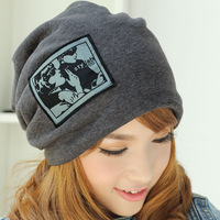 2012autumn and winter Korean version of cottonmen  and ladies fashion caps beanies  free shipping