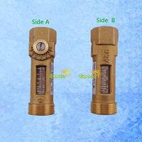 USC-MS21TA 2-8L/min Flow Adjustable Mechanical Flow Meter Flowmeter Flow Sensor Direct Reading  Flow Rate