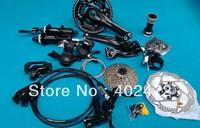 2014 DEORE M610 M615 10 30 speed Bicycle Derailleur set / Mountain bike Speed change Kit Big set