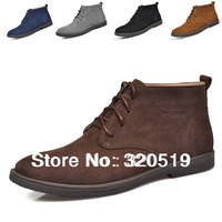 Spring fashion martin boots snow boots casual male cotton thermal plus velvet shoes tidal current male ankle boots male