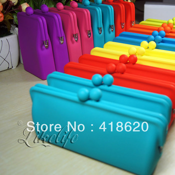 Free shipping factory wholesale silicone cosmetic bag storage glasses handbag bag
