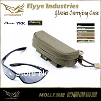 Genuine FLYYE Anti-Shock Waterproof Nylon Molle System Glasses Carrying Case - Eye Glasses Pouch Case  & Sunglasses Box Holder