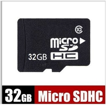 Free Shipping NEW 32G 32GB Micro SD Micro SDHC Class C 10 TF Flash Memory Card+Free Adapter